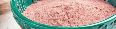 argilla rosa zaffiro organica