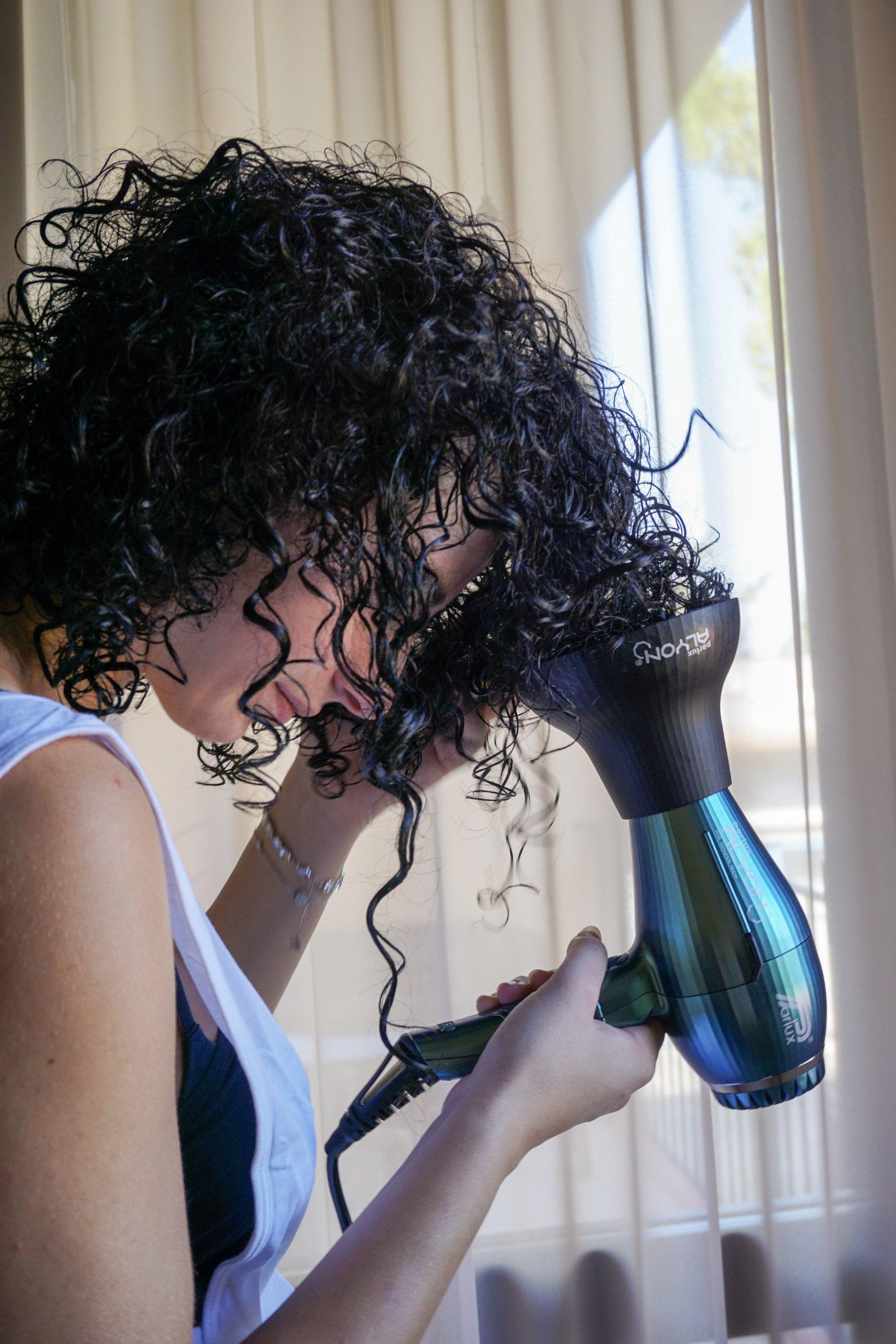 asciugatura parlux capelli ricci