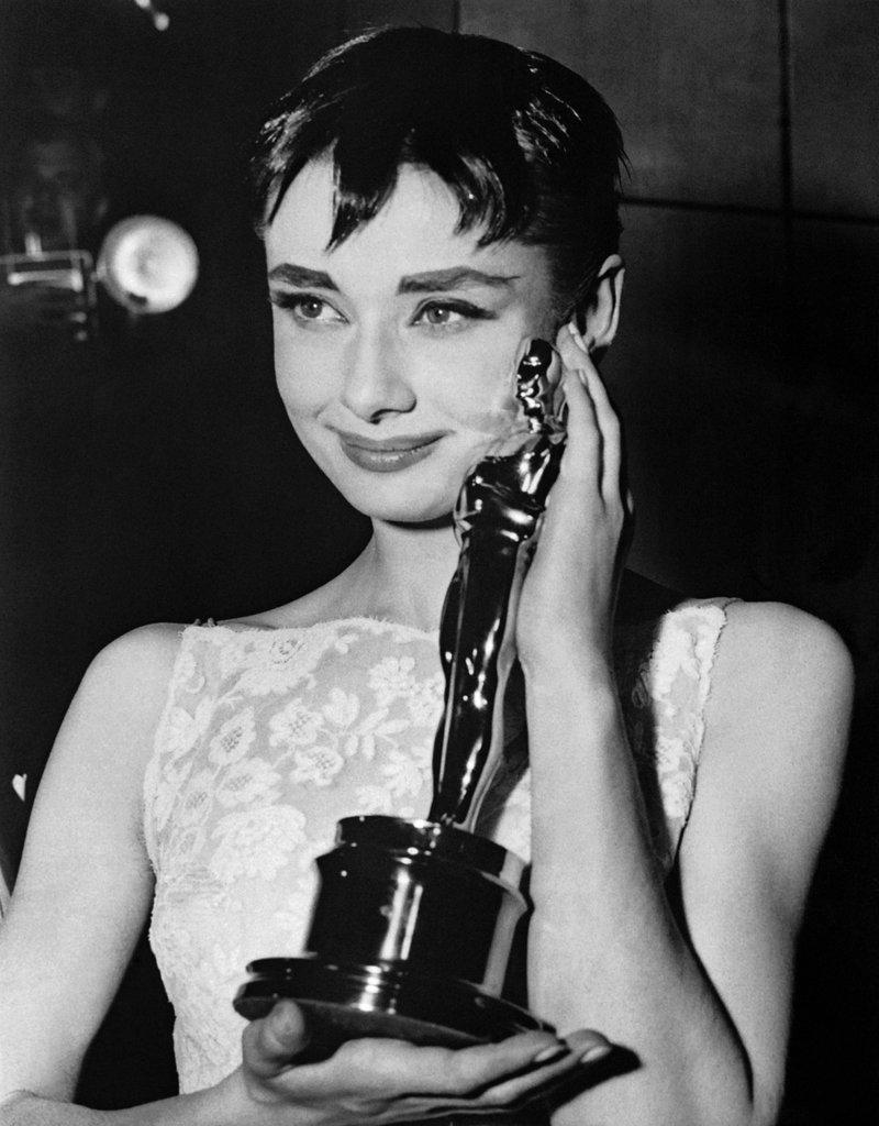 Audrey Hepburn Best Actress Oscar 1954